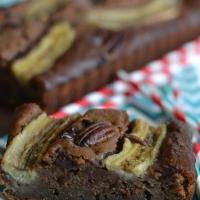 Banana Bread au chocolat (sans lactose sans sucre raffiné )